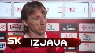 Luka Modrić Posle Pobede Hrvatske nad Velsom 2:1   SPORT KLUB Fudbal