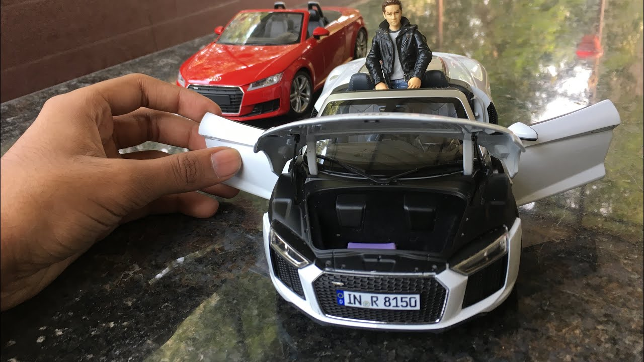 Auto 1//18 iScale Compatibile con Audi Sport R8 Spyder V10 1:18 044799