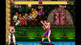 Super Street Fighter II - The New Challengers - Vega