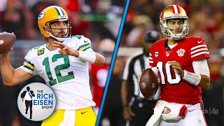 """""""How Good Was That Game!!"""" -  Rich Eisen Recaps the Packers' """"Exhilarating"""" SNF Win over the 49ers"""