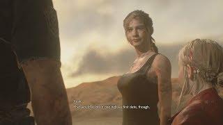 Resident Evil 2 Remake: Claire Redfield & Leon Chemistry (Are You Boyfriend & Girlfriend?)