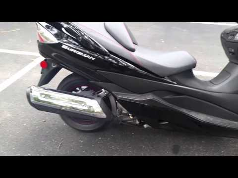 how to change miles to kilometers on 2011 burgman 650