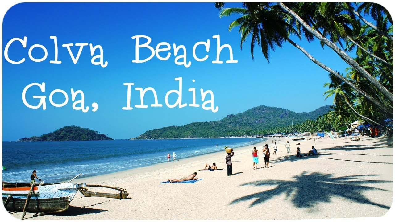 Colva Beach in Goa, India Tourist attractions