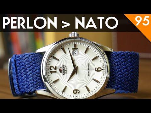 Perlon Is Better Than NATO: Strapville Perlon Watch Strap Review