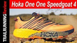 Hoka One One Speedgoat 4 Review - Máxima amortiguación con horma estrecha