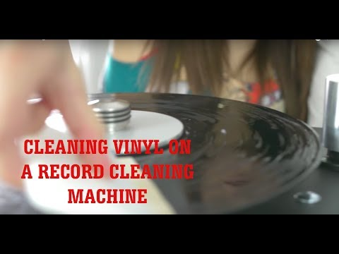 How To Clean Vinyl on a Record Cleaning Machine