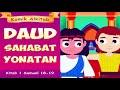 Gambar cover DAUD SAHABAT YONATAN | Raja Saul dan Panglima Abner | cerita komik alkitab sekolah minggu