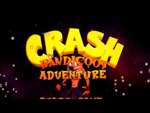 Crash Bandicoot Adventure (PC) - 7 уровней (5 камней)