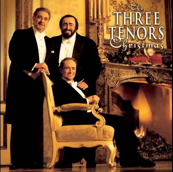 The Three Tenors Christmas Songs - YouTube
