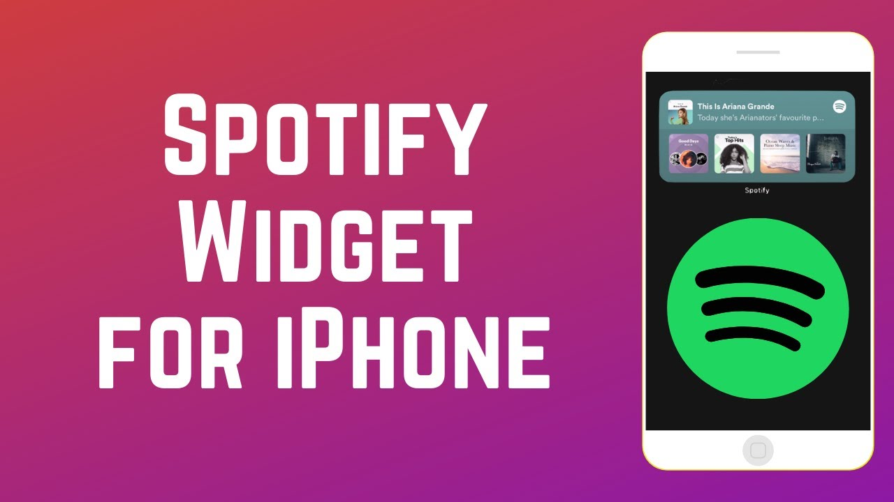 How to Get & Use Spotify Widget for iPhone