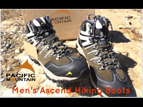 c14b7fe10e4 Pacific Mountain men's Ascend Mid backpacking boots review (part 1 ...