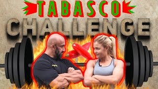 Fitness Challenge - Sophia Thiel vs. Ercan - Tabasco
