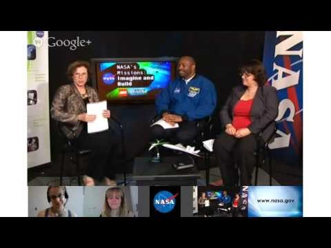 Imagine and Build Hangout on NASA TV