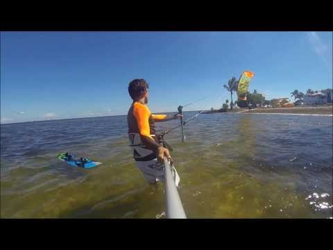 Freestyle Kiteboarding Mathesson Hammock Park in Miami