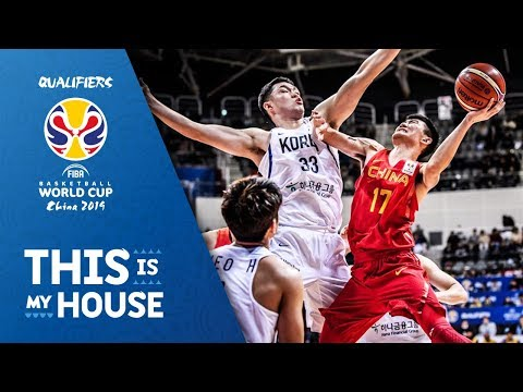 China def. Korea, 92-81 (HIGHLIGHTS) November 26 | FIBA World Cup Asian Qualifiers