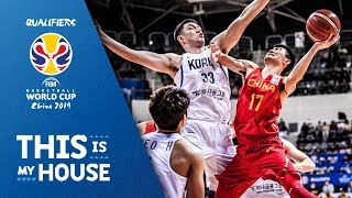 Korea v China - Highlights - FIBA Basketball World Cup 2019 - Asian Qualifiers