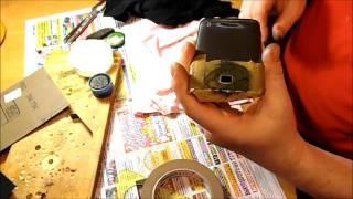 Полировка камеры на мобильном телефоне