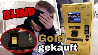 Ich kaufe BLIND einen echten (!!!) Goldbarren  😱| Julienco