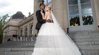 "Incredible Surprise (Amanda Malela ""Hosanna"") at Kayembe's wedding at San Marco Village Congolese"