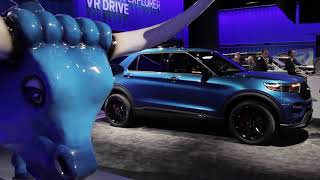 2020 Ford Explorer at 2019 NAIAS Detroit Auto Show