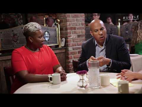 Sen. Cory Booker Roundtable Discussion on The Dignity Act - Clinton, New Jersey