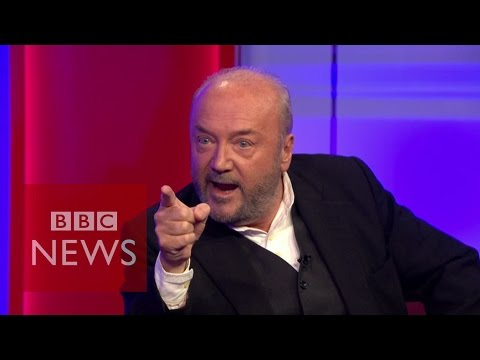 'You Killed A Million People In Iraq' George Galloway Tells Jacqui Smith - BBC News