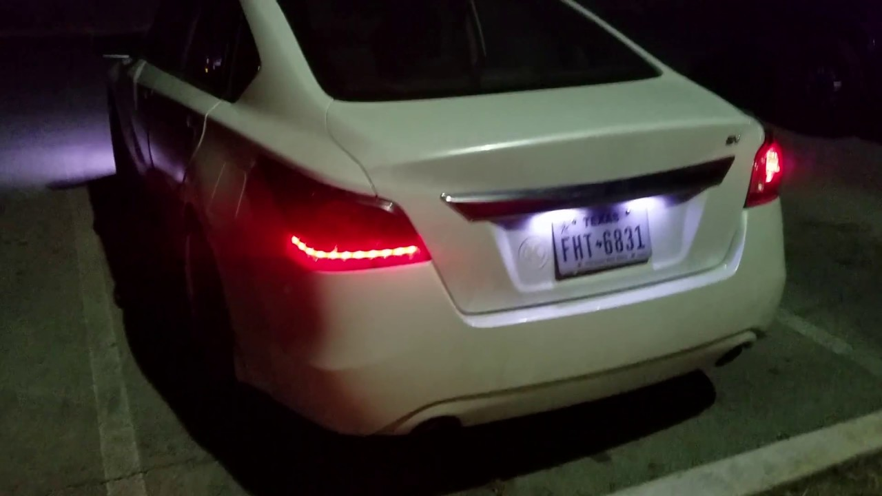 2017 Altima Led Tail Lights