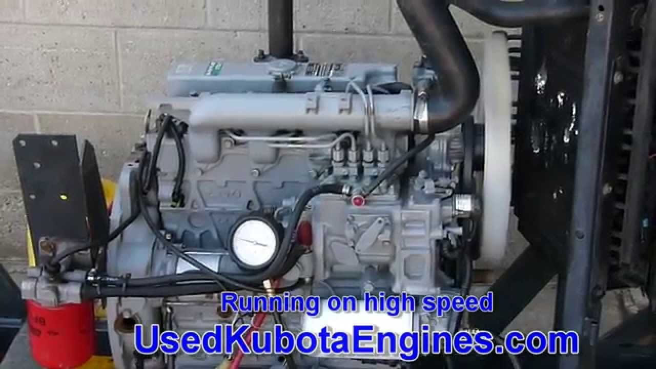Used Kubota V2203 Engine For Sale Ph  612-799-8092 - Ser #6C2843 080415
