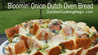 Dutch Oven Blooming Onion Bread