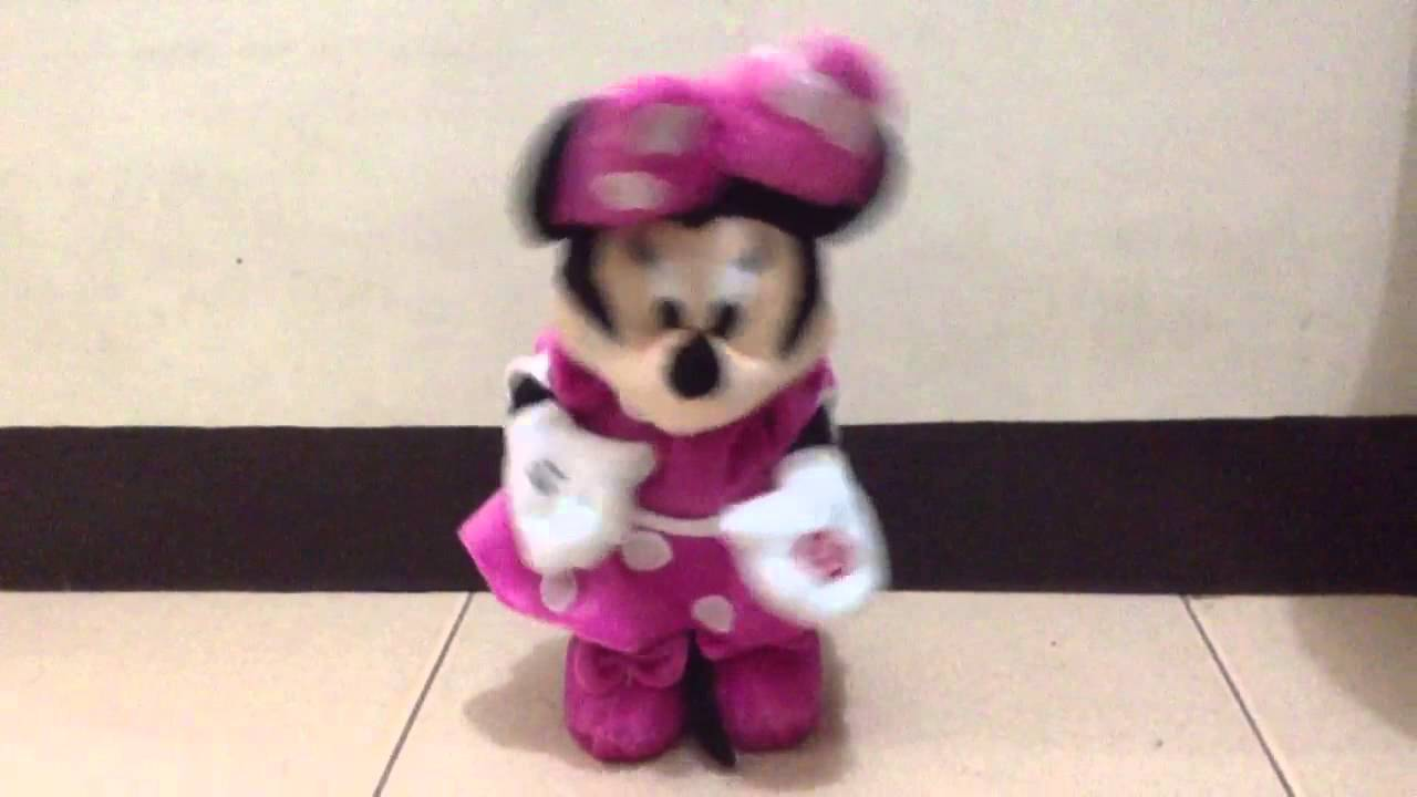 Minnie Mouse Dancing Hot Dog