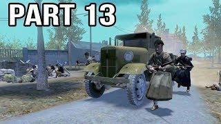 Call of Duty 2 Spanish Civil War Gameplay Part 13 - Ebro River Crossing