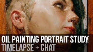 Starting Over | Oil Painting Study + Chat