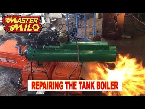 Battle tank heater repair & test (Type 69-II)