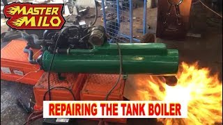 Battle tank heater repair & test (Type 69-II)