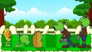 AV de la ANIMACIÓN de Plantas vs Zombies de la Serie Animada! Episodio - 1 / ZOMBOTANY