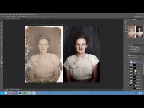 Watch Photoshop Genius Bring Retro Snapshot Back To Life (VIDEO)