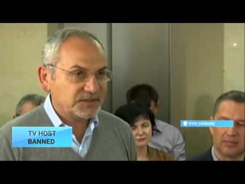 Top Ukraine TV Banned Shudter protests work ban with hunger strike