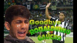 Goodbye Ronaldinho Gaúcho *RONALDINHO CROSSBAR CHALLENGE REMAKE*