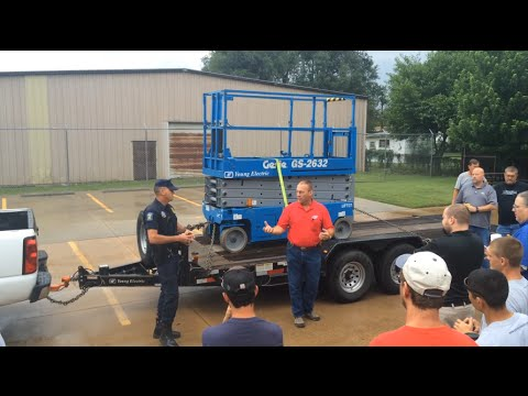 Kansas Highway Patrol Roadside Inspection Demo