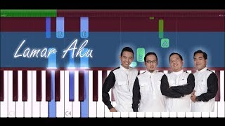 Wali - Lamar Aku Piano Tutorial by HR Piano SUBSCRIBE HR Piano http://bit.ly/hrpiano Please kindly Like, Comment, Share, & Subscribe ^^