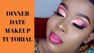 STEP BY STEP DINNER DATE MAKEUP TUTORIAL.