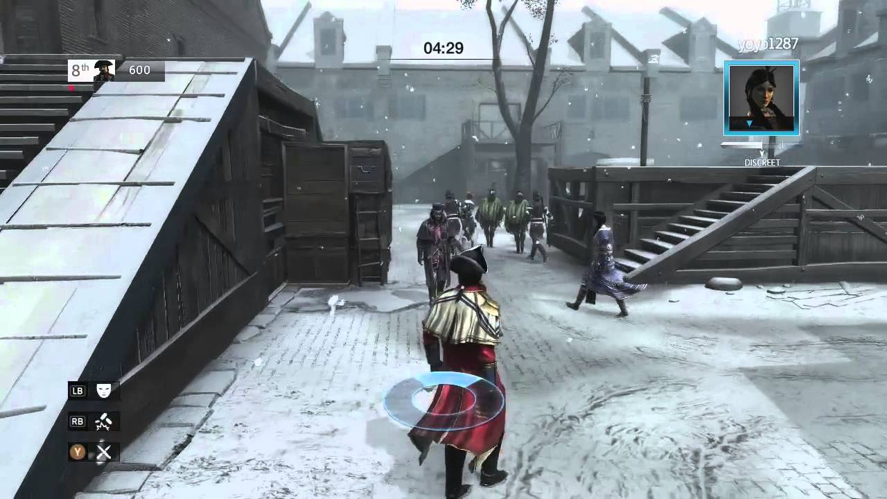 Assassins creed games free online - Assassin S Creed 3 Multiplayer Gameplay Live Online Free For All Deathmatch Gameplay Xbox360 Ps3 Youtube