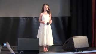 Amira Willighagen - Voi Che Sapete - Singing at CD Release Party - 22 March 2014