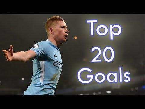Kevin De Bruyne Top 20 Goals For Man City