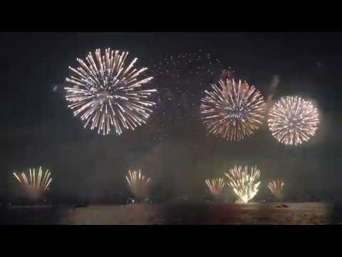 Perth Australia Day Fireworks 2015