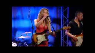 "ANA POPOVIC "" Rain Fall Down "" ( Rolling Stones ) New Morning Paris 08 07 2014"