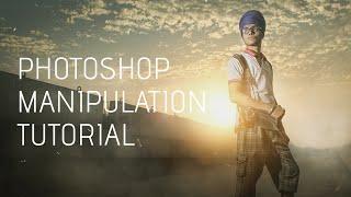 Photoshop | How to Photo Manipulation & Smoke Effects ( Sardar Ji )