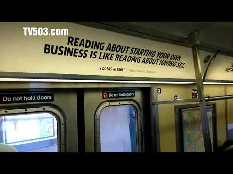 Sex and Starting Business . New York Subway