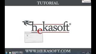 Hekasoft Backup Restore   Module Creation Tutorial