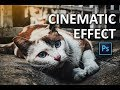 How to Apply Cinematic Color Grading to your Photos FAST - Photoshop Tutorial for Beginners